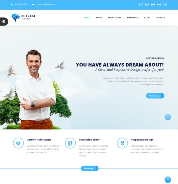 Business & Corporate HTML5 Joomla Template $48