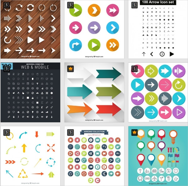 Free Download Arrow Icons