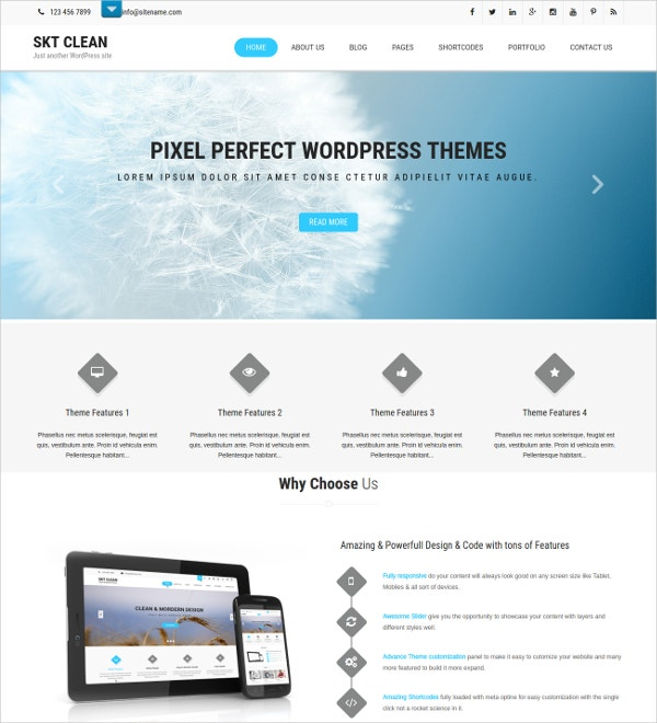 72 new html5 themes templates released in august 2016. Black Bedroom Furniture Sets. Home Design Ideas