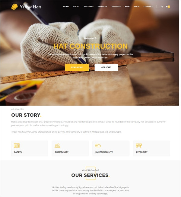 building construction drupal theme 48