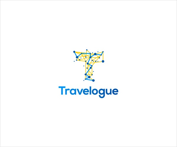 travelogue logo design