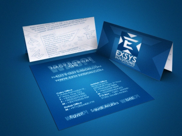 Exsys Solutions Business Card