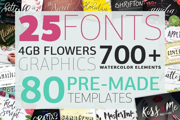 BIG BUNDLE by BlessedPrint 98% Off