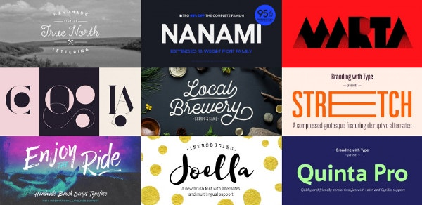 Most Popular Fonts Upto 95% Off At Hypefortype