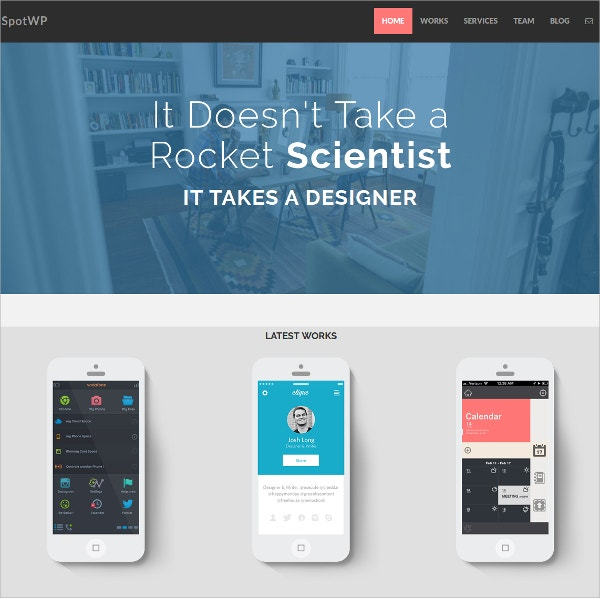 Company, Agency Bootstrap WordPress Theme
