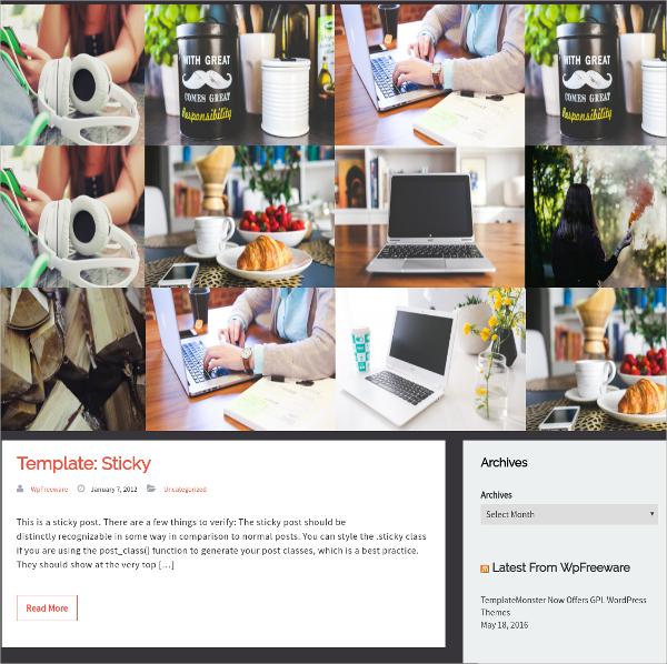 Awesome Free Responsive Bootstrap WordPress Theme