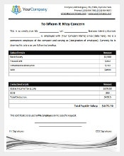 ... People Under Them Can Try Salary Certificate Template; It Will Provide  A Professional Relationship Between Them And Their Employees. In Microsoft  Word ...  Ms Office Certificate Template