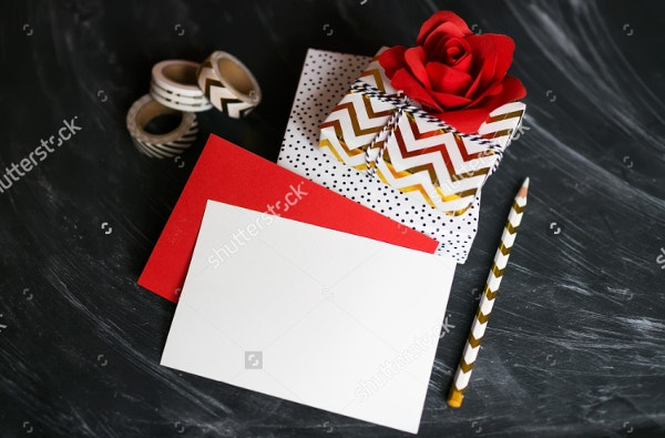 Love Greeting Card Mockup