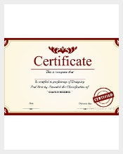 Free Certificate Template Is The Online Program That You Can Get When You  Are To Have A Diploma Or The Like Be Created In Your Personal Computer In  Just A ...  First Aid Certificate Template