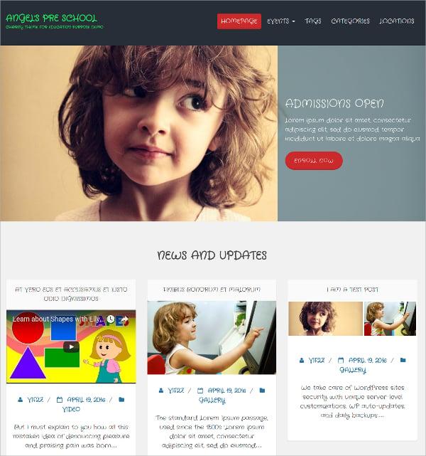 free non profit corporate blog wordpress theme