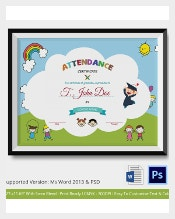 Certificate template 826 free word pdf psd eps format download organizers for a seminar or any events usually prepare an attendance certificate template for that particular happening participants of the event can be yelopaper Gallery