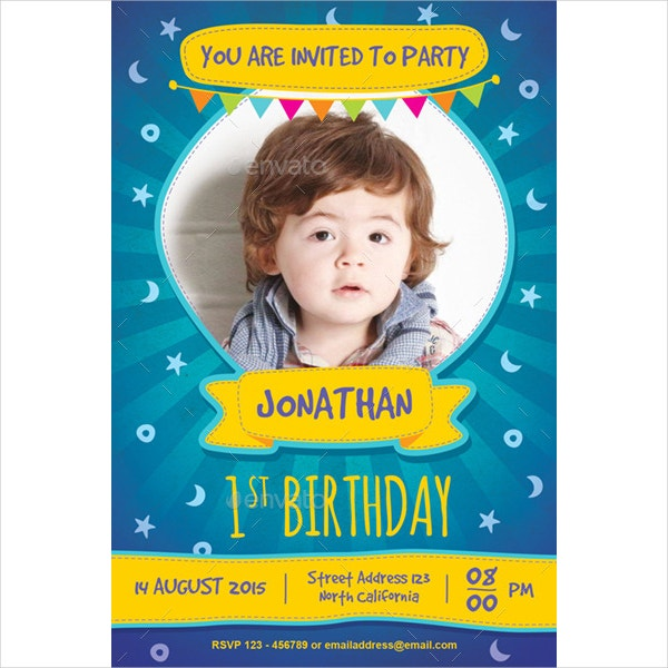 19 kids party invitation templates free psd ai vector eps kids birthday party invitation template stopboris Choice Image