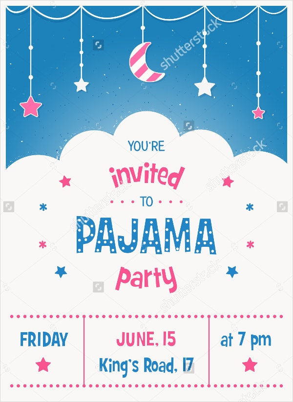 Kids Party Invitation Templates Free PSD AI Vector EPS - Birthday party invitations for kids free templates