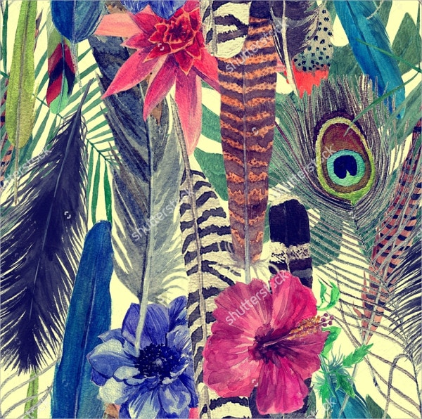 Exotic Feather Patterns