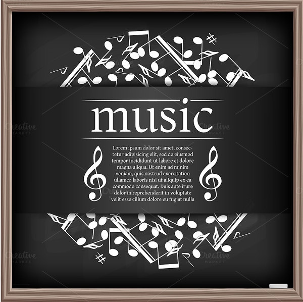 Classical Music Poster Template