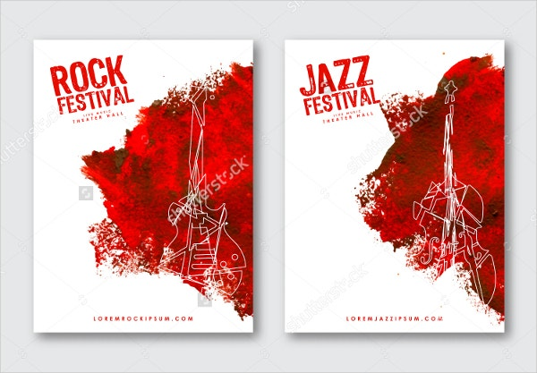 18 music poster templates free psd ai vector eps for Music festival planning template
