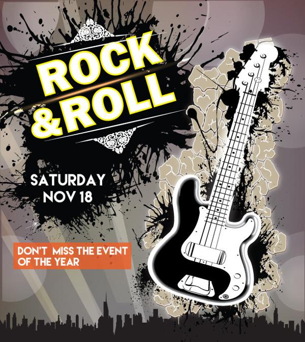 Custom Music Event Poster