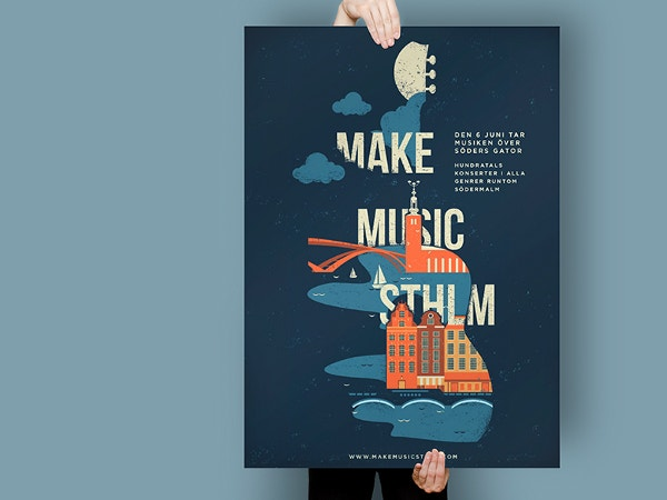 make music sthlm poster