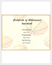 Certificate template 826 free word pdf psd eps format sports club that offers basketball training for interested players can use basketball certificate template for athletes that completed a basketball course yadclub Image collections