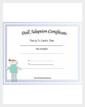 Certificate template 826 free word pdf psd eps format adoption certificate templates adoption3 yelopaper Image collections