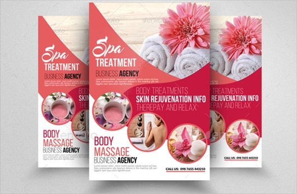 Beauty & Spa Flyer Templates