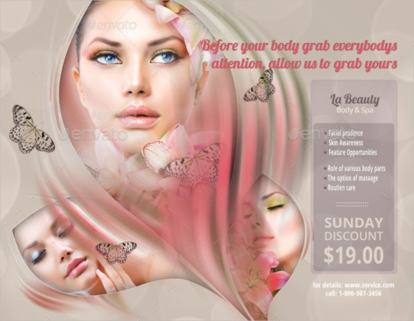 Body & Spa Flyer Template