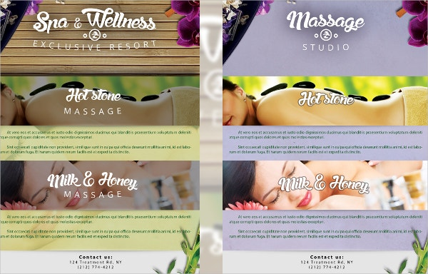 Spa Flyers Free PSD AI EPS Format Download Free Premium - Wellness flyer templates free