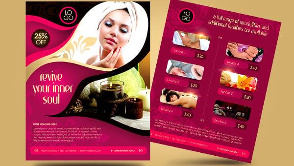 spa flyers