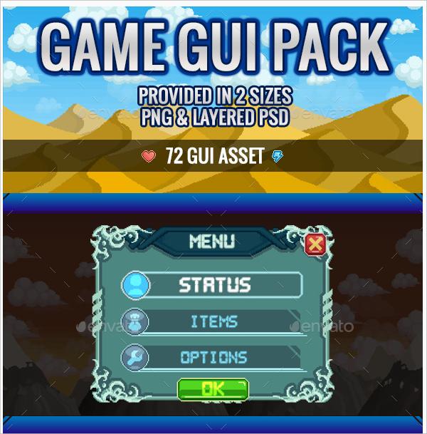 pixel gui kit