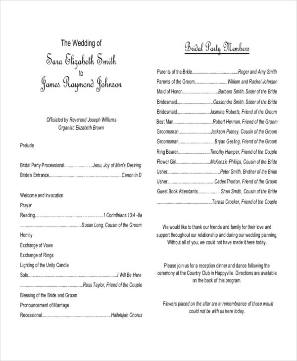 exle of wedding invitation program wedding invitation ideas