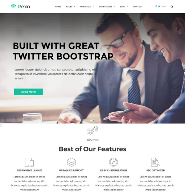 Creative WordPress Business Theme