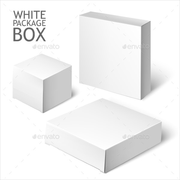 Square Cake Box Template