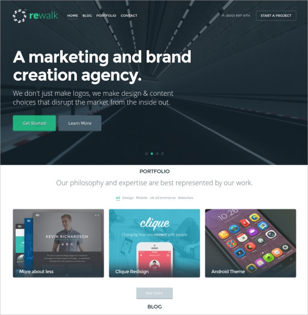 Agency Business WordPress Theme $44