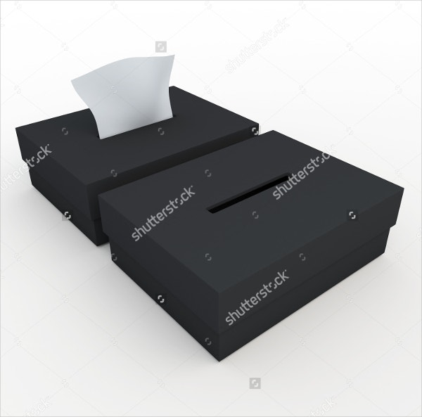 Square Tissue Box Template