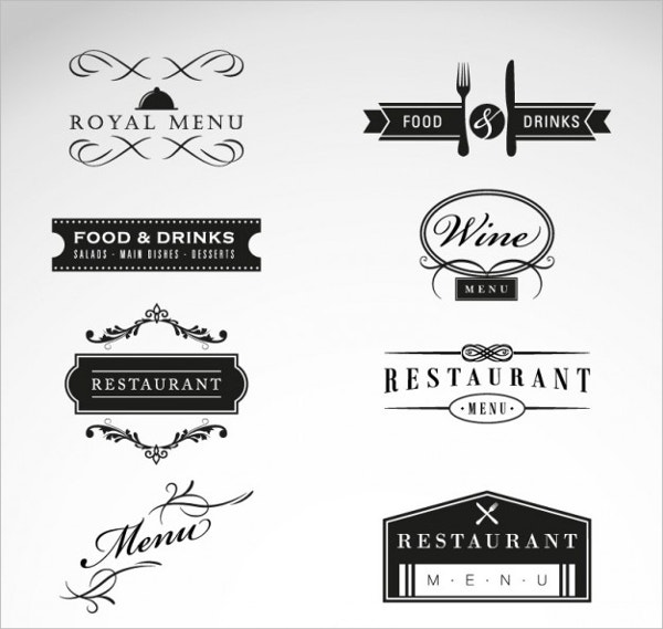 luxury-restaurant-logos