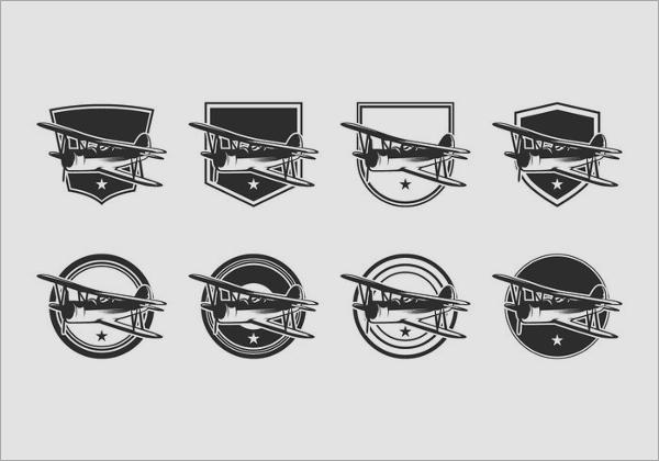 free-biplane-logo-template