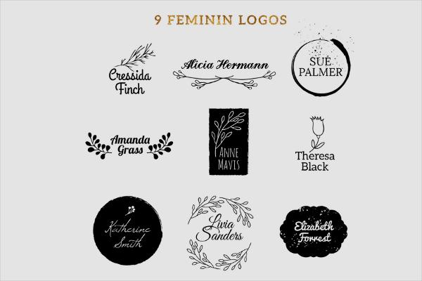 free-feminine-vector-logo