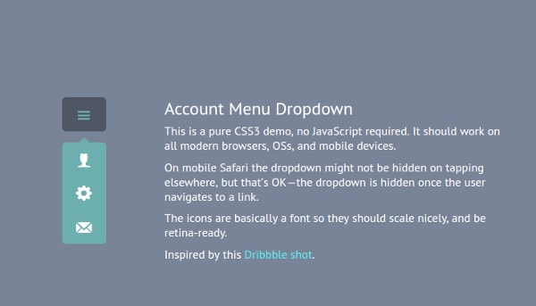 19+ Drop-Down Menu Designs - Free CSS, JS Format Download | Free