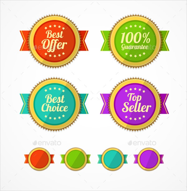 sale design vintage label templates