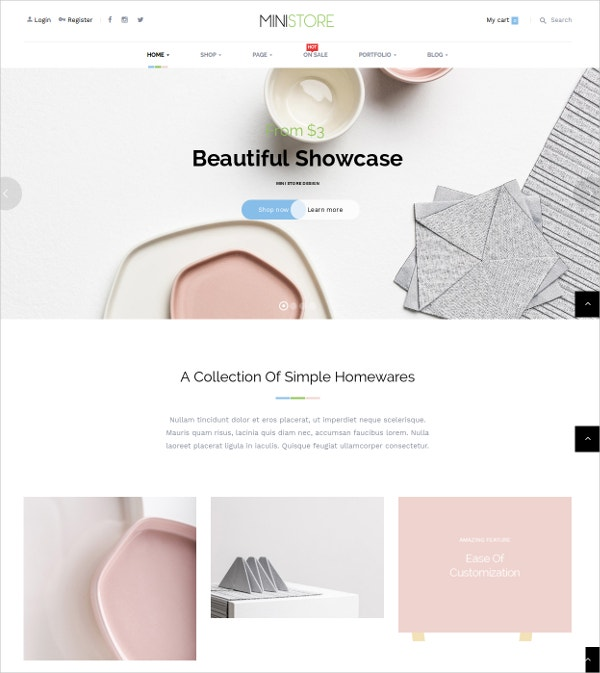 Fashion WP eCommerce WooCommerce Theme $55