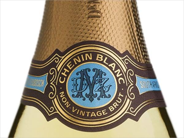 Vintage Champagne Label