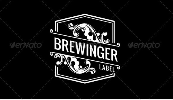Brewinger Vintage Label Templates