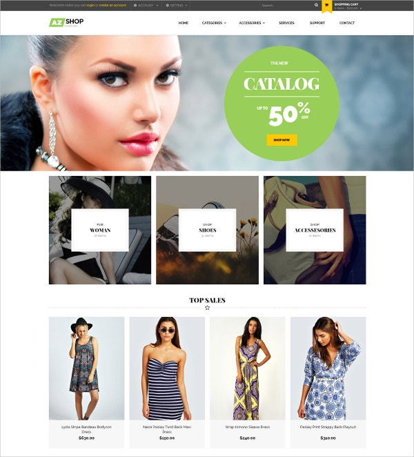 Electronics & Fashion Clothes Shopify eCommerce Theme $56