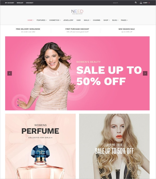 Multipurpose Responsive Shopping eCommerce WP Theme $59