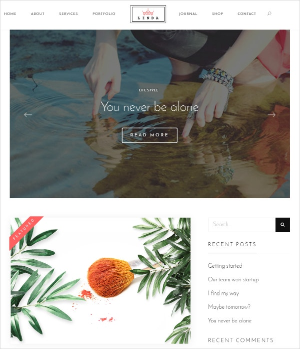 Modern Agency, Blog, eCommerce WordPress Theme $59