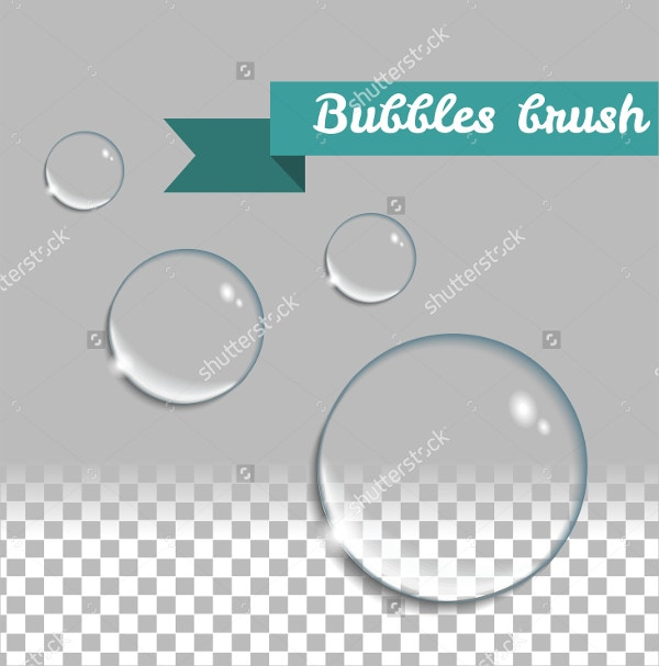 Transparent Bubbles Brush