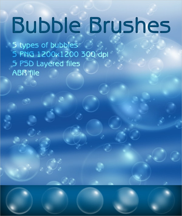 Clean Bubble Brushes