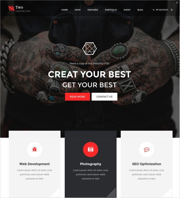 creative multipurpose html blog template 17