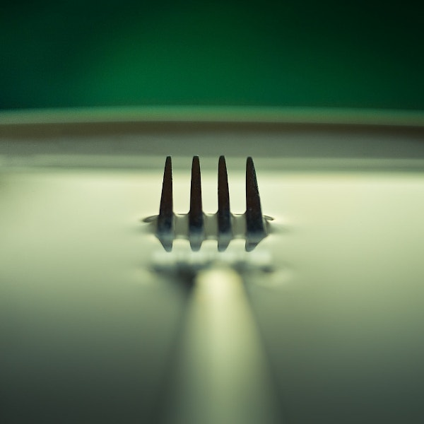 Macro Lens Fork spoon Abstract