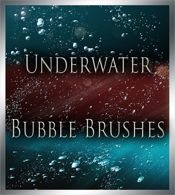 Underwater Bubble Brush